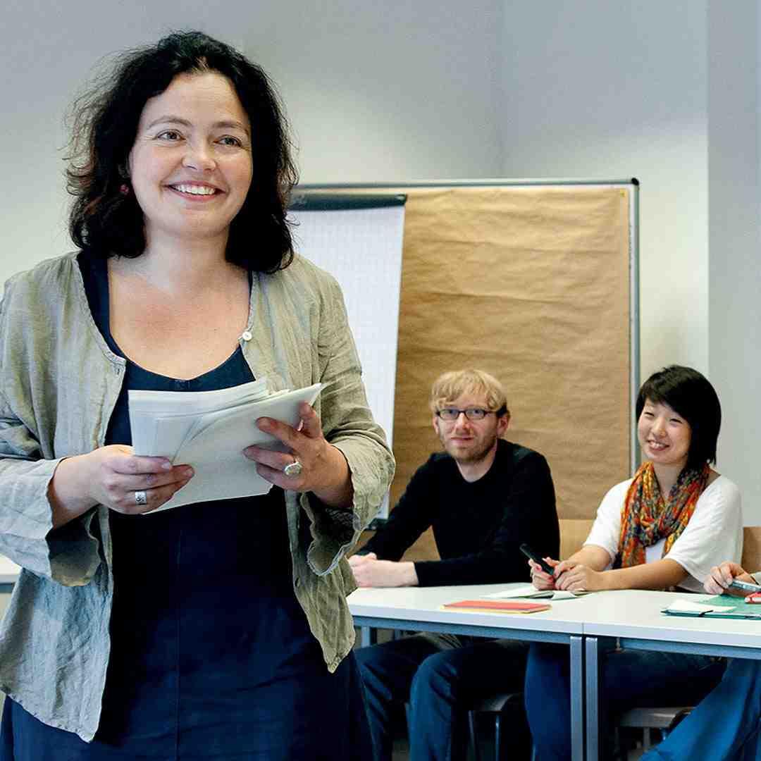 Tina unterrichtet bei Sprechart
