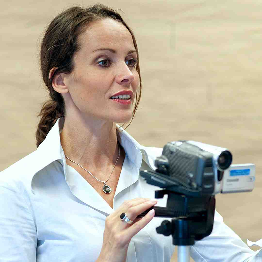 Anna mit Kamera Sprechart